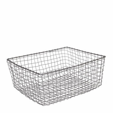 Cabo Vintage Wire Storage Basket