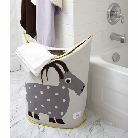 3 Sprouts Goat Laundry Hamper