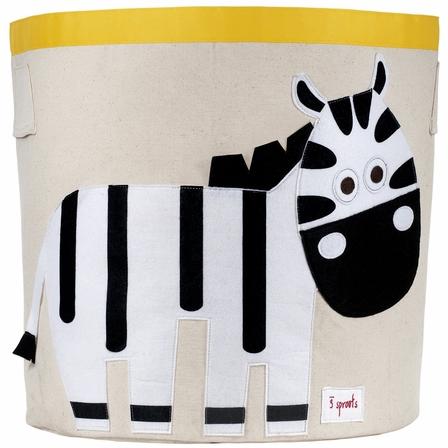 3 Sprouts Zebra Storage Bin