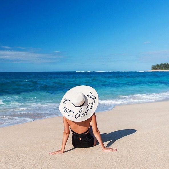 Eugenia Kim Do Not Disturb hat via Gary Pepper Girl. Photo by Luke Shadbolt.