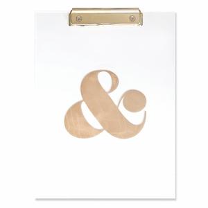 Ampersand Clip Board