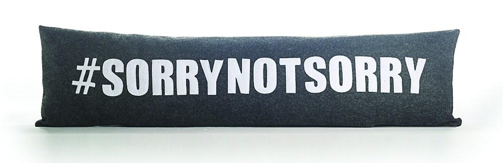 Alexandra Ferguson  #SORRYNOTSORRY Pillow