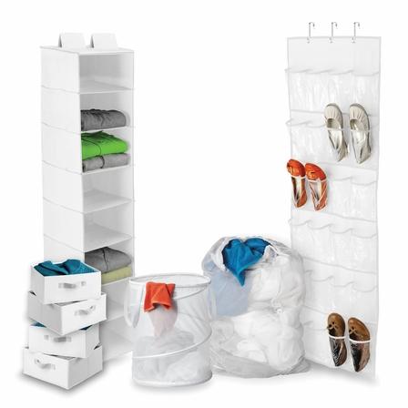 Honey Can Do Dorm Room Closet + Laundry Kit.