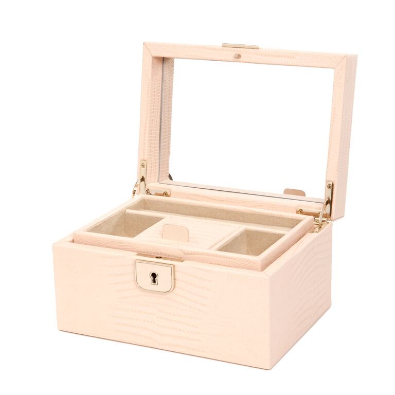 PALERMO BLUSH JEWELRY BOX