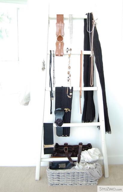 Ladder Storage; Image c/o Stylizimo