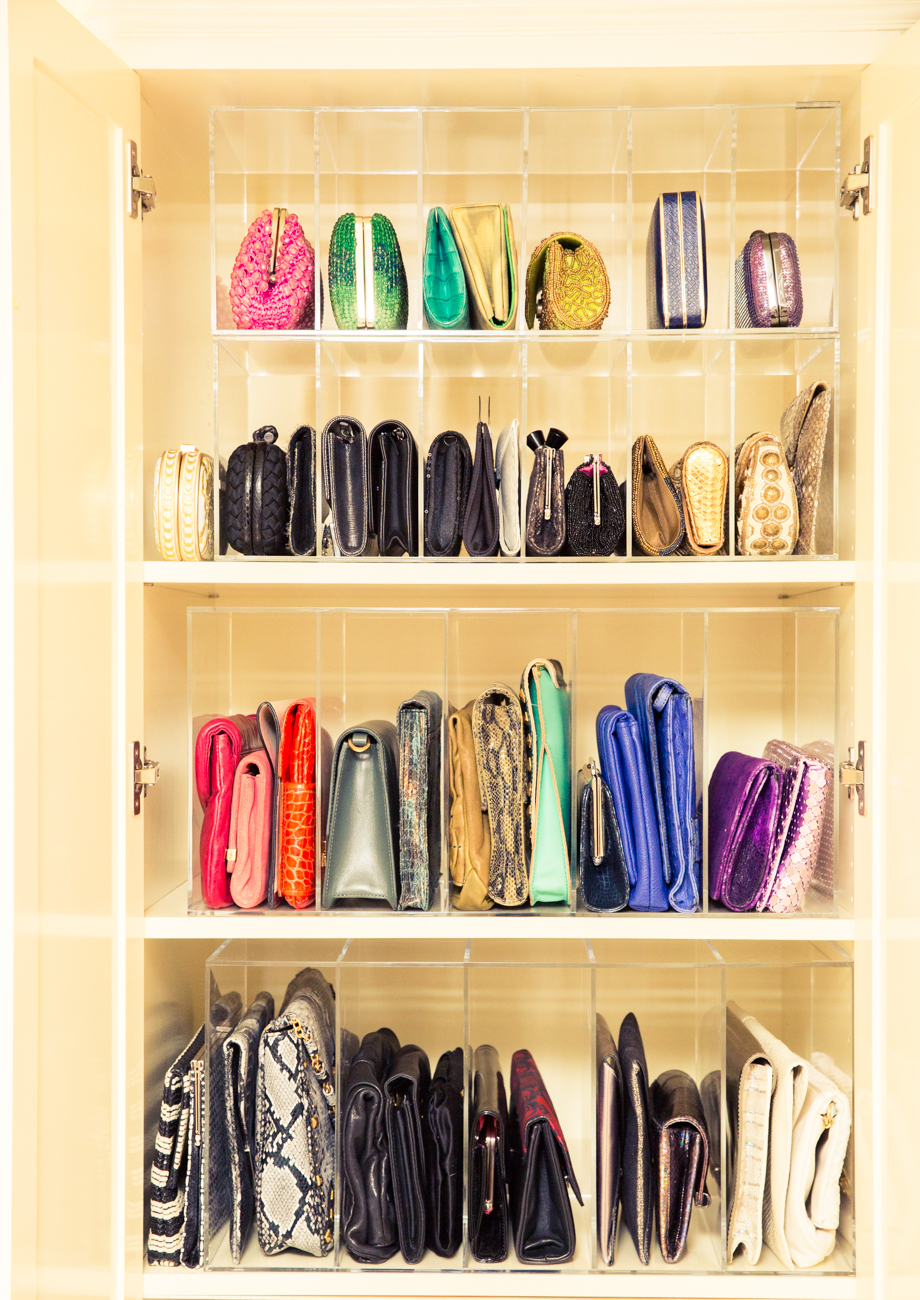Image C/o: Renee Rodenkirchen Of The Coveteur. GLAMdivide Clutch Organizer;  The