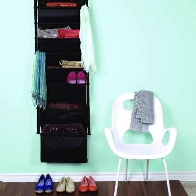 Slingo Purse (scarf, shoe + accessory) Organizer; The Organizing Store.