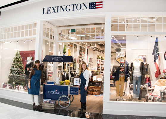 Lexington Company Store; Mall of Scandinavia.