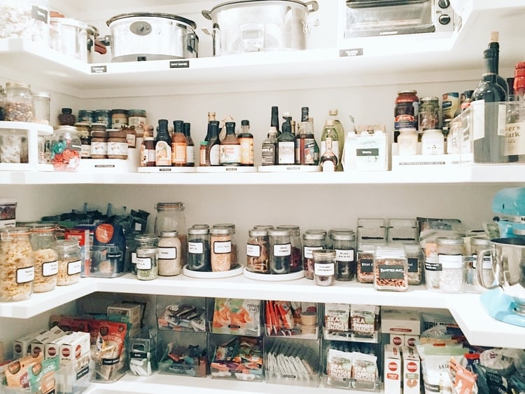 Weelicious Pantry Makeover by The Home Edit