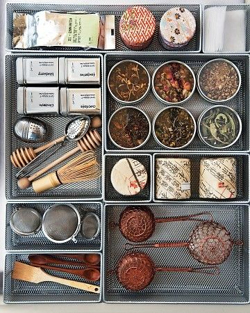 Photo: Martha Stewart |  Drawer Organizers