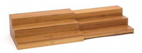 Bamboo Expandable Step Shelf