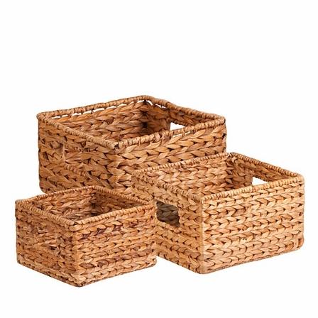 Banana Leaf Storage Baskets