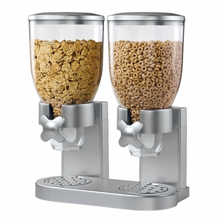 Zevro Double Dry Food Dispenser