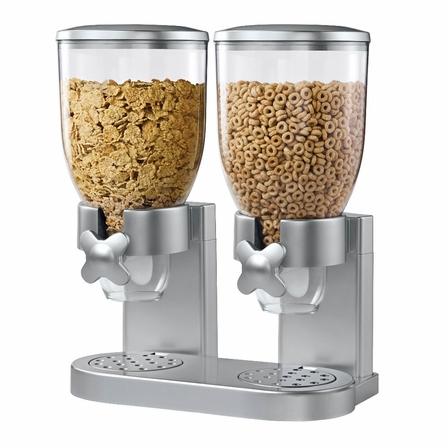 Zevro Double Dry Food Dispenser