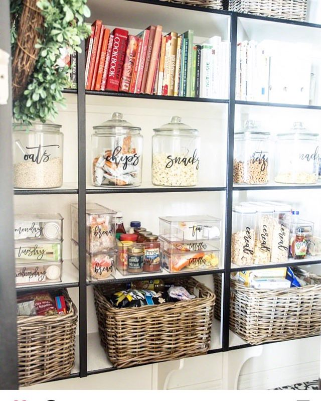 Whoa, now that's neat! My friend, @justdestinymag is good at literally EVERYTHING she does, but I think her pantry makeover hit her 'top 10'. Grab the details over on her blog and check out her adorable family! #organization #pantry