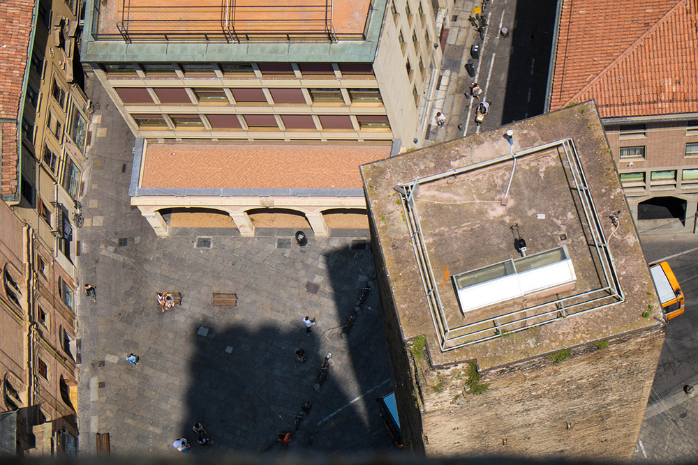 Bologna from a different perspective.
