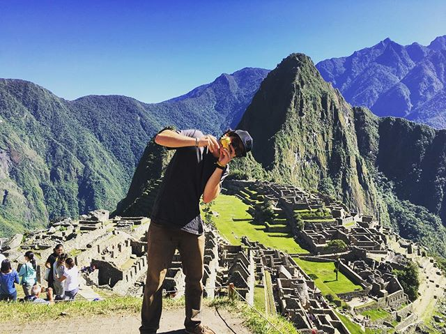 The best way to get kicked out of Machu Picchu