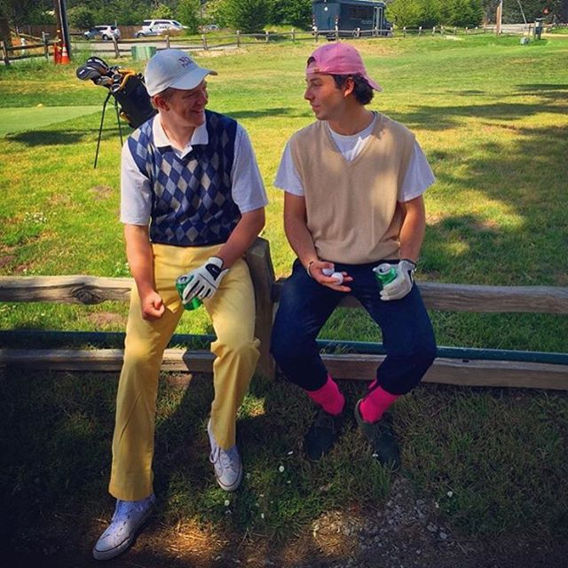 I miss being on the links with this dude. Happy birthday buddy🎈