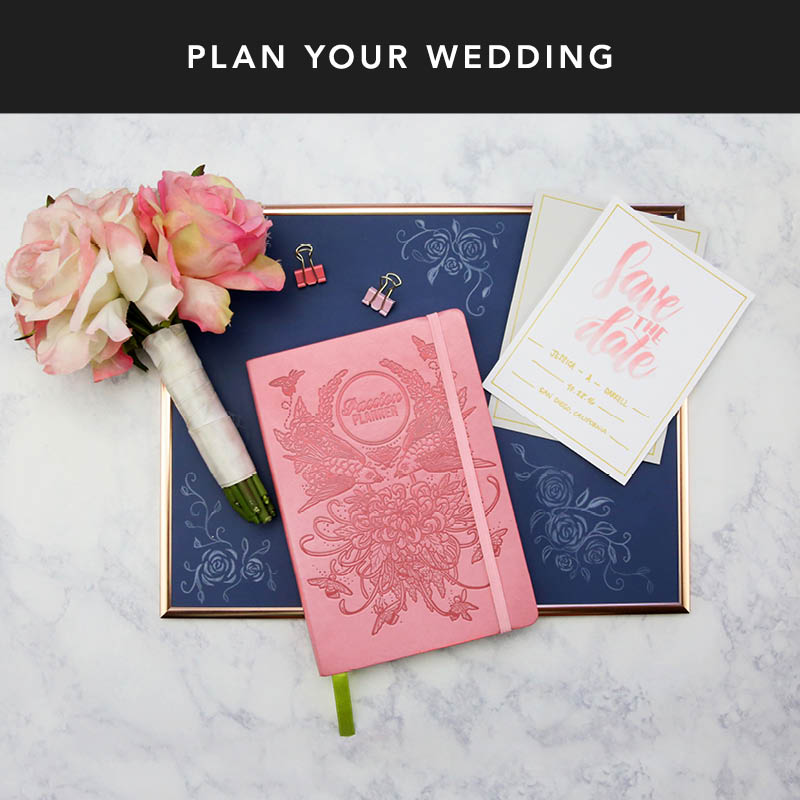 Something old? Something new? Something borrowed? Something blue? Check. Make sure you're ready for your big day with your Passion Planner!