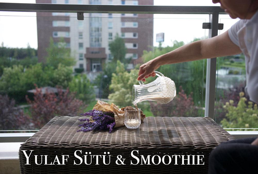 Yulaf Sütü & Smoothie