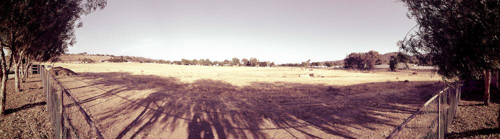 Outside Field Pano