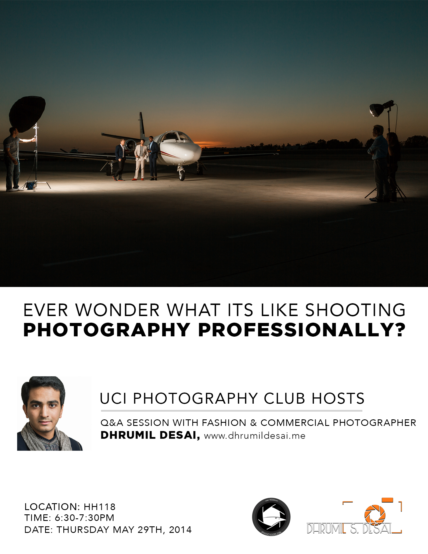 Guest talk @ UCI Photography Club