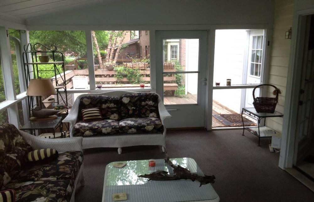 Screen Porch/Deck Before