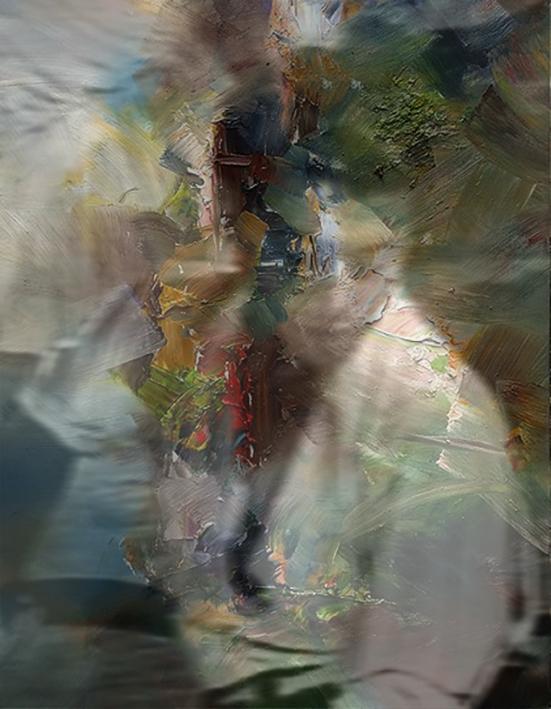 AndrèSchmucki -  reconsidering (acrylic oil on canvas)