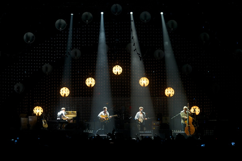 Mumford and Sons, London O2, 2012