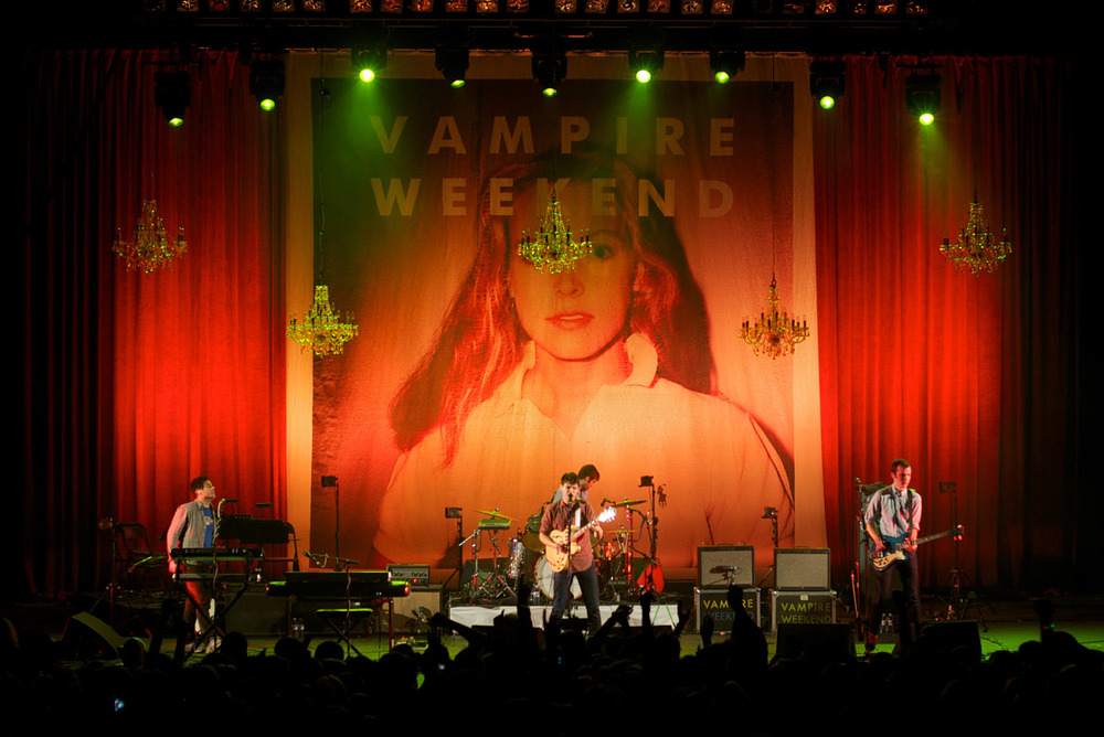 Vampire Weekend, London, 2010