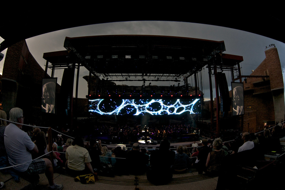Peter Gabriel, Red Rocks, 2011