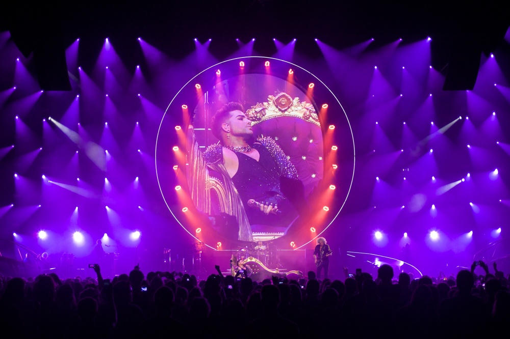Queen + Adam Lambert, Boston, 2014