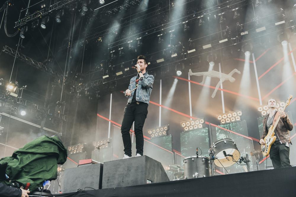 Bastille, Reading Festival, 2015