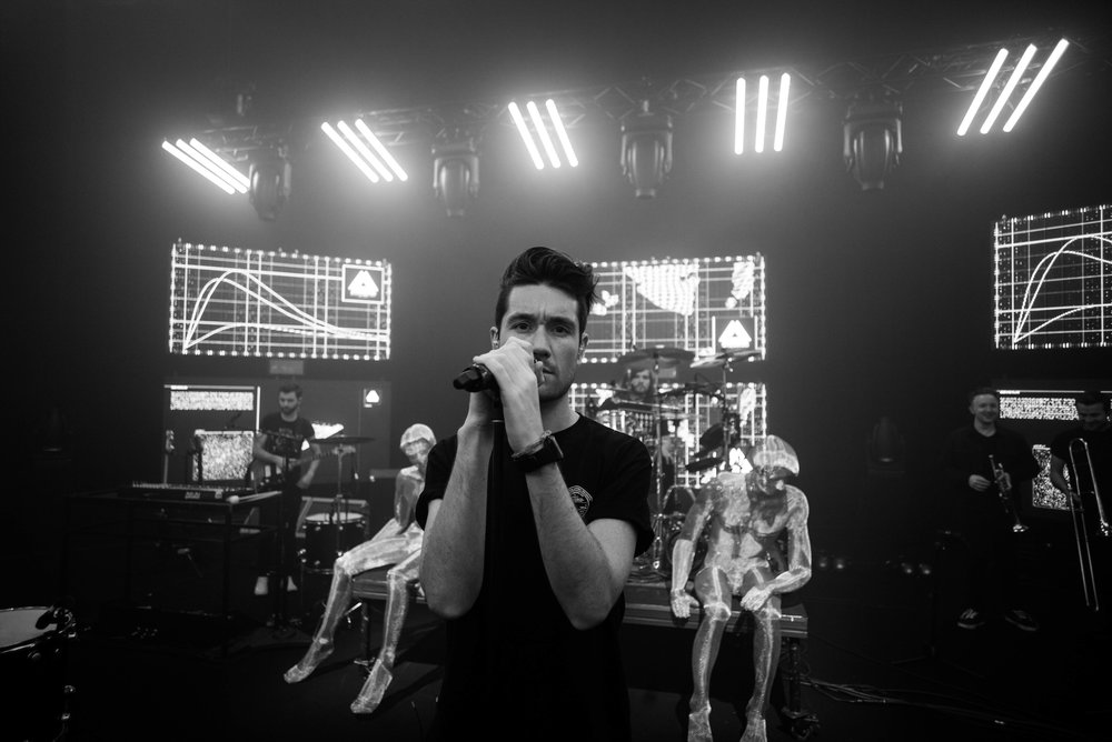 Bastille, Vevo shoot, London 2016