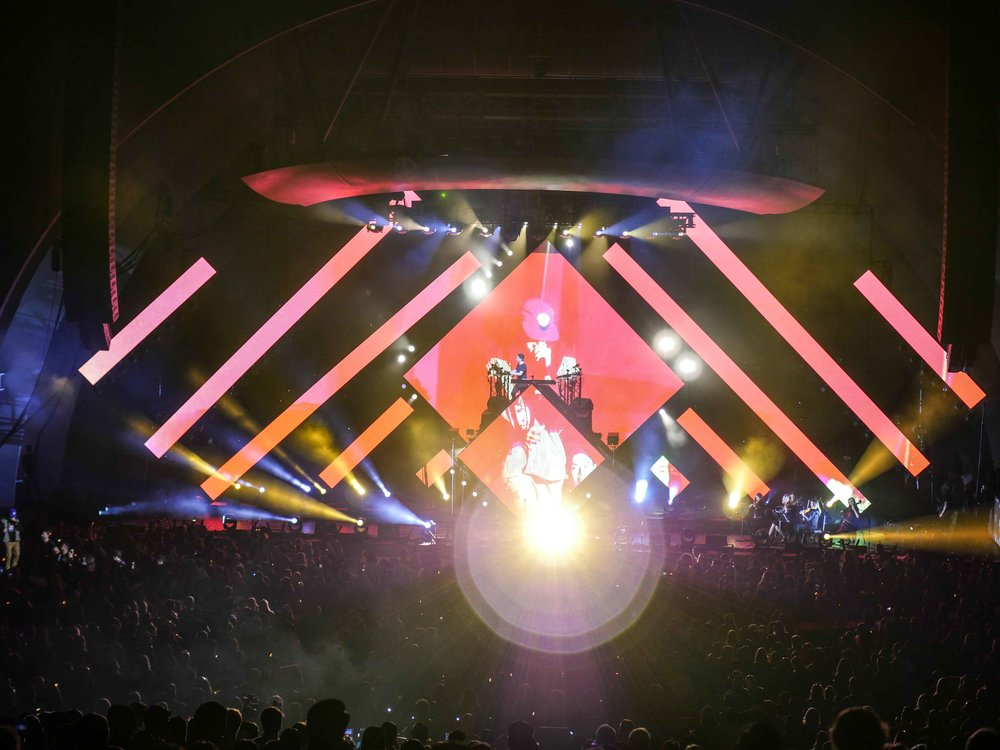 Kygo, The Hollywood Bowl, 2016