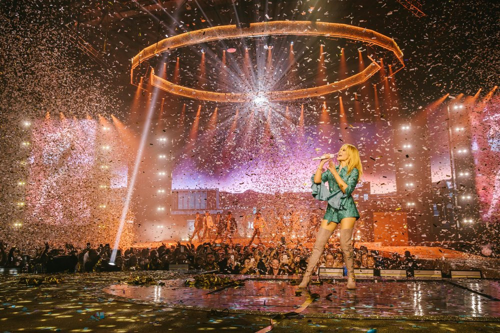 Kylie Minogue in Golden, Newcastle 2018