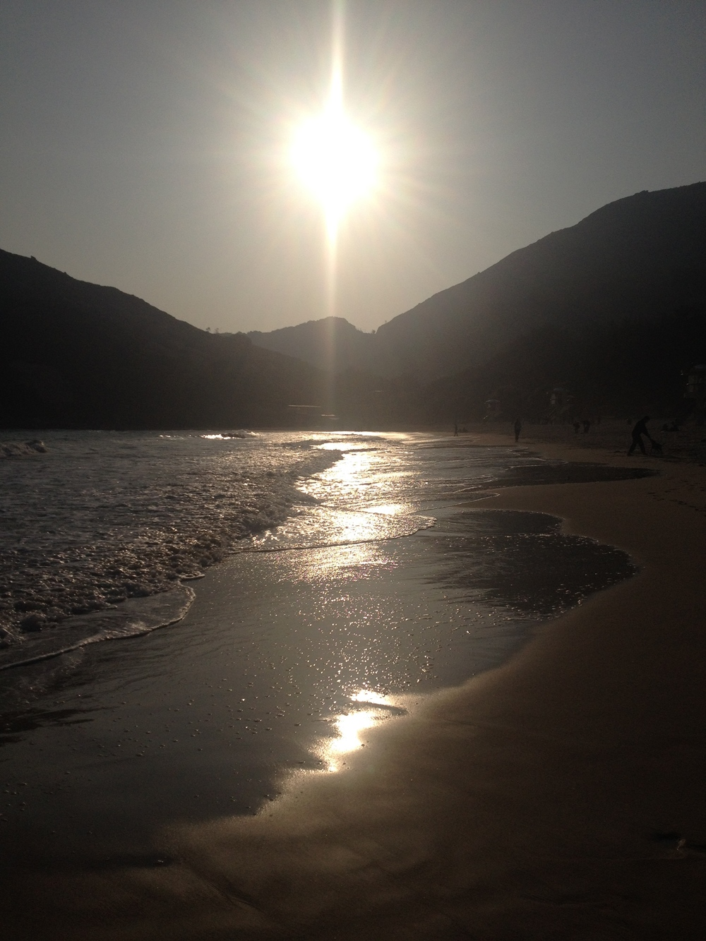 Shek O beach Hong Kong 16th January 2015