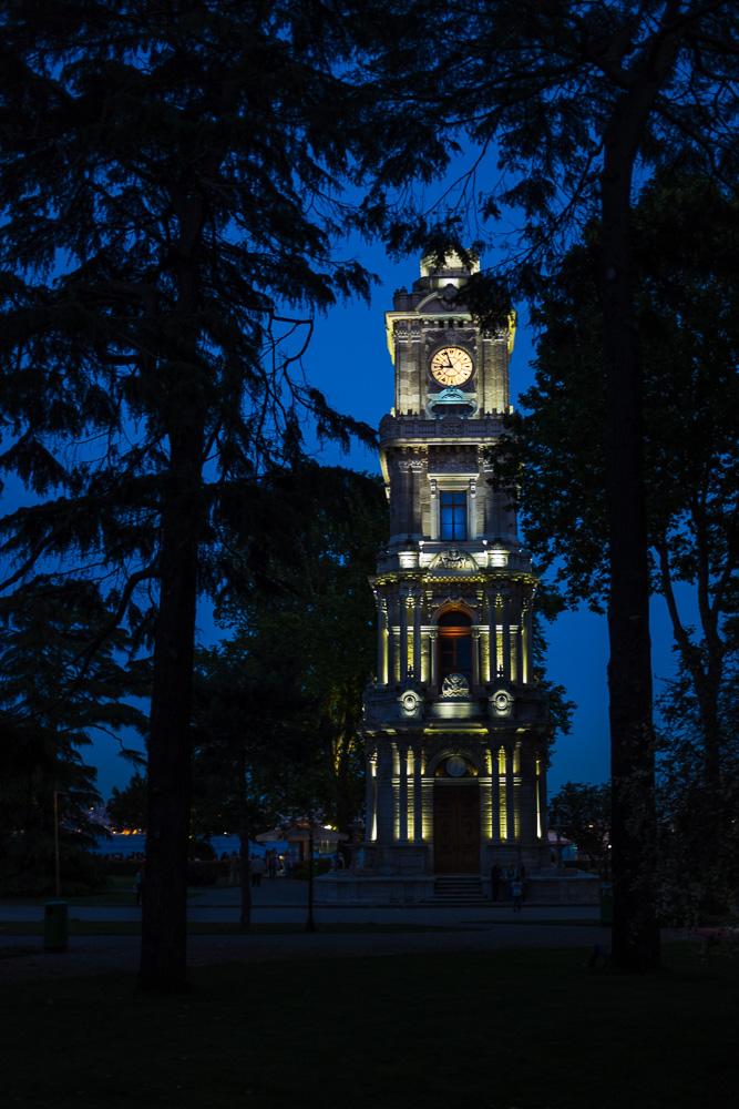 Uhrturm von Dolmabahce