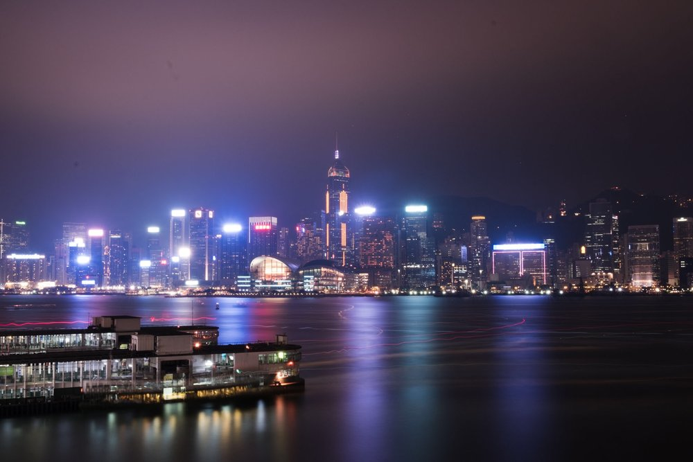 Hong Kong, 472 Sekunden, ja, ich muss meinen Sensor reinigen... bzw. das Bild nachträglich säubern, geht nur nicht am iPad... ;)