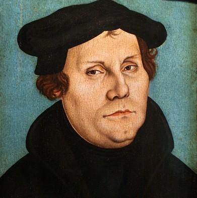 Martin Luther (1529) - Lucas Cranach starejši