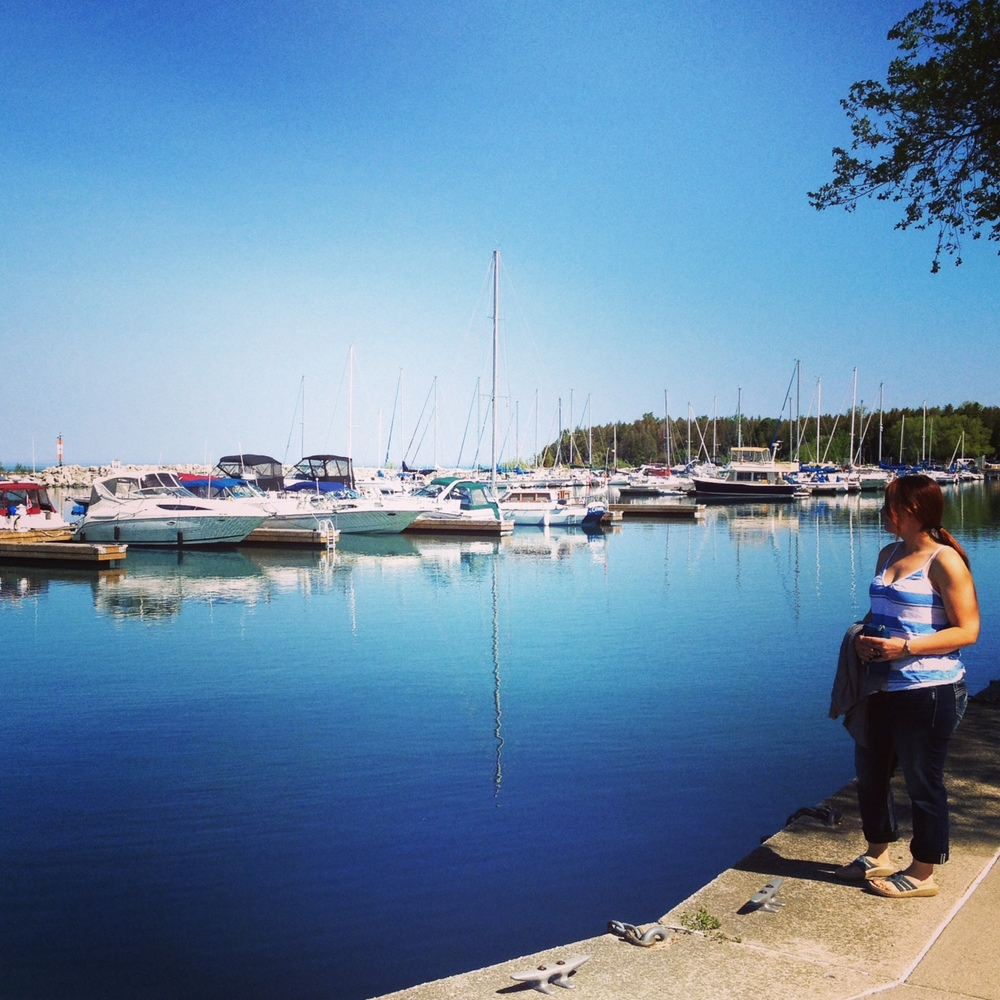 Port Elgin Harbour...