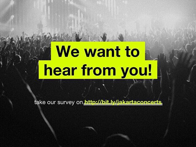 Yes, we want to hear it from ya! Head over to the bio in our link! X