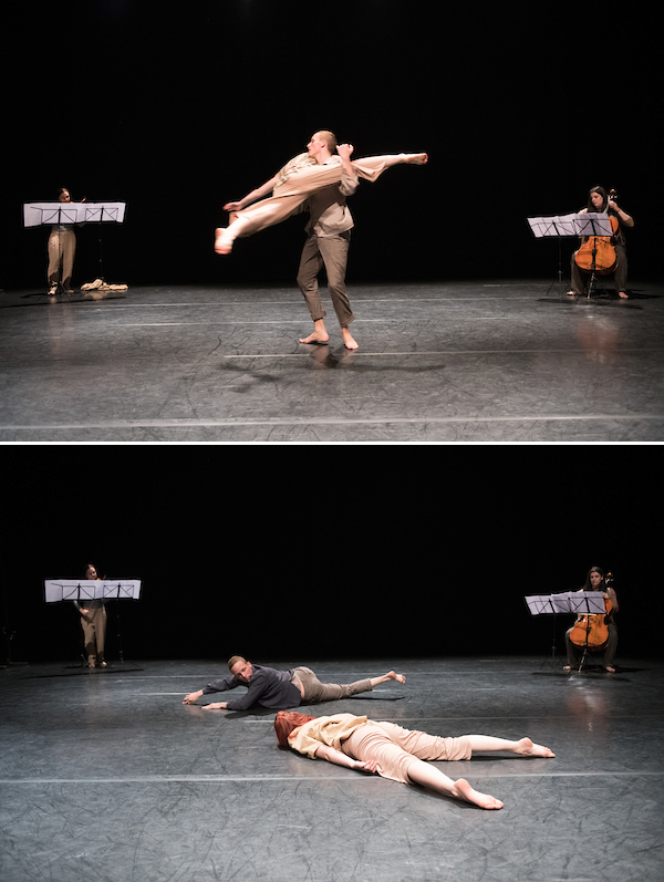 The Flock - A Dance and Music piece about the desire of flying.