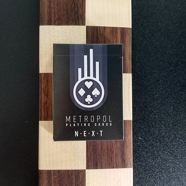 Sorry it's been kind of quiet lately! Lots to do and not enough hours in the day.  Metropol NEXT, and the 2017 edition LUX and NOX decks pictured with another project of mine that's been keeping me busy the last few days.  The design work for the next Metropol deck is progressing. Updates coming soon!