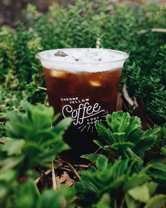 Cascara Coldbrew Tonic. Our newest seasonal drink made with Cascara syrup, coldbrew coffee, tonic, lime and maldon salt. Super refreshing for those hot ATL days.