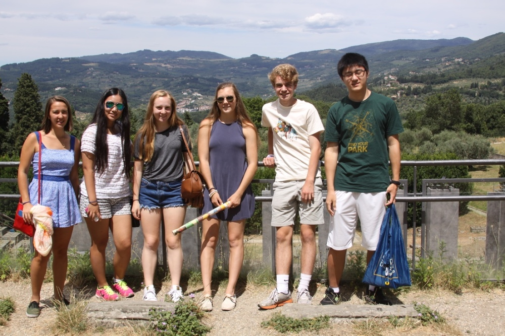 The crew at Fiesole!