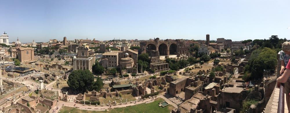 The Roman Forum--pretty impressive!