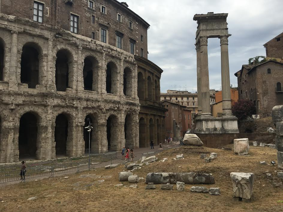 The Theater of Marcellus.