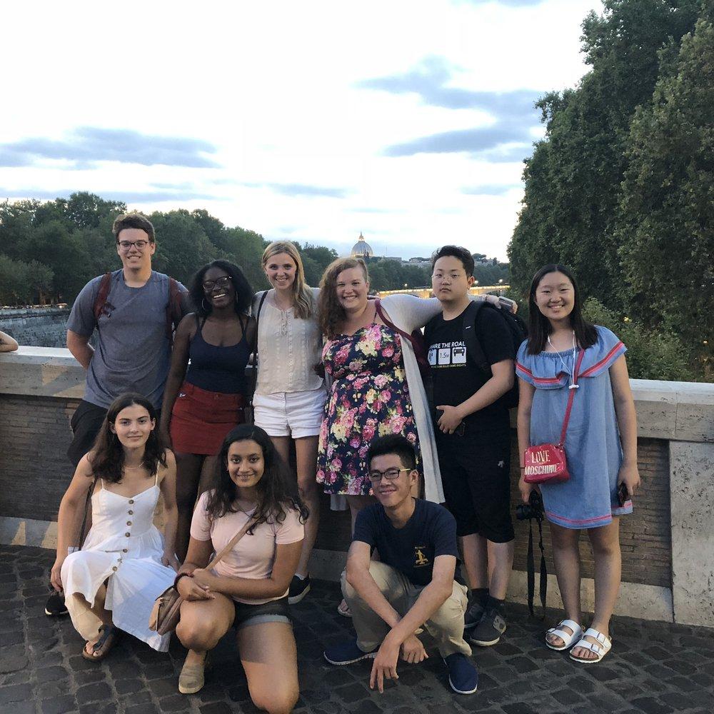 Group on Ponte Sisto.jpg