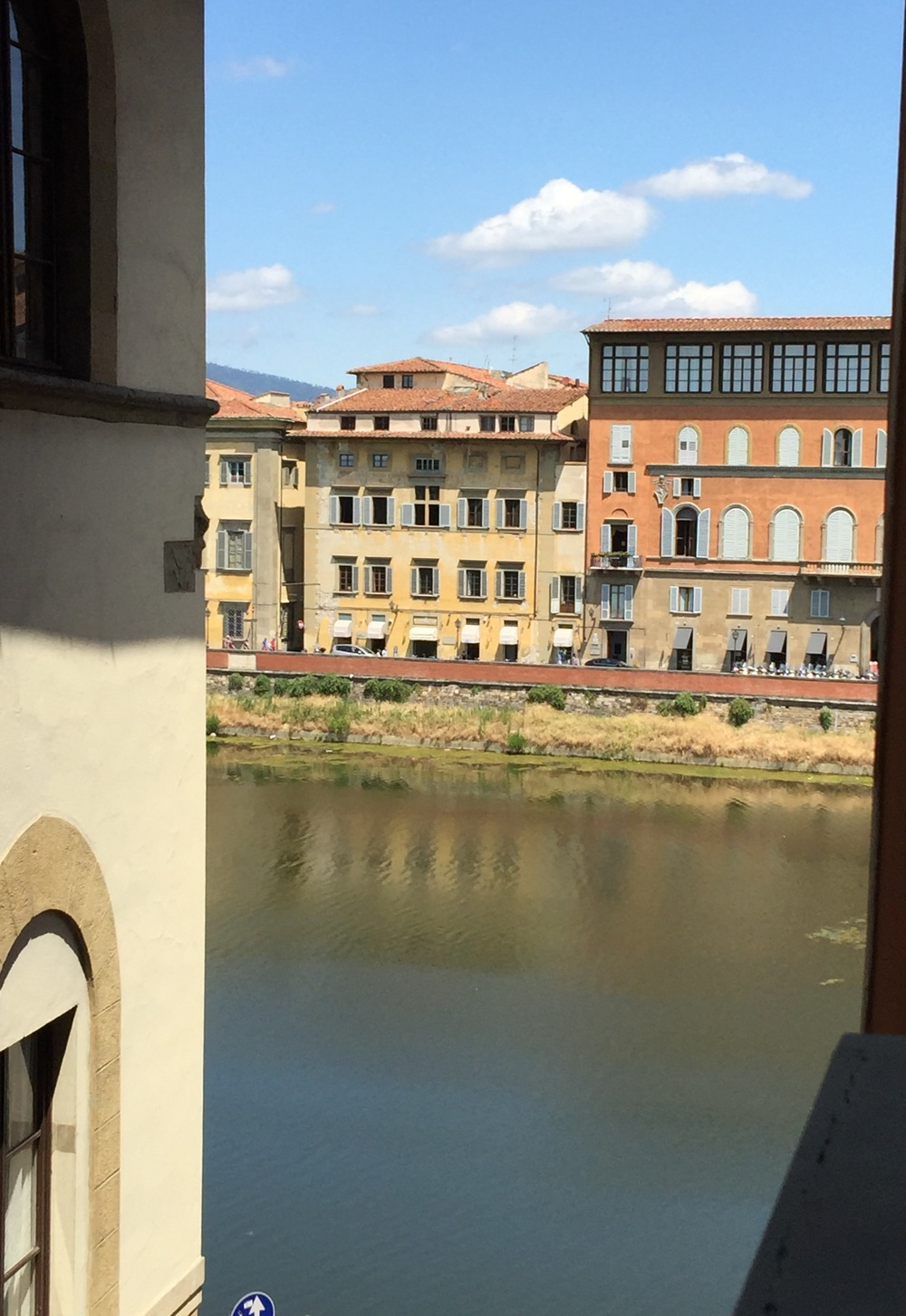 View of the Arno from our window!